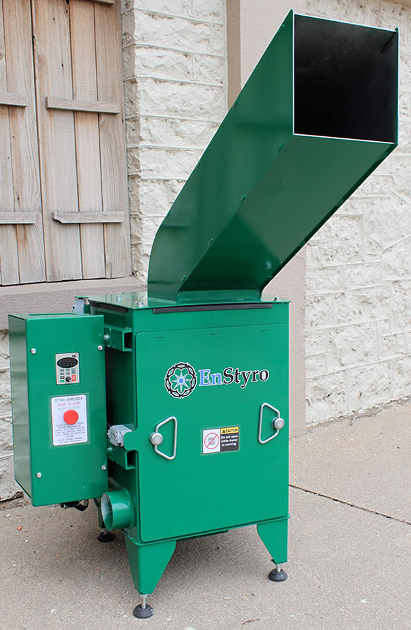 styrofoam recycle machine